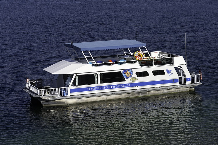 50-ft XT Houseboat