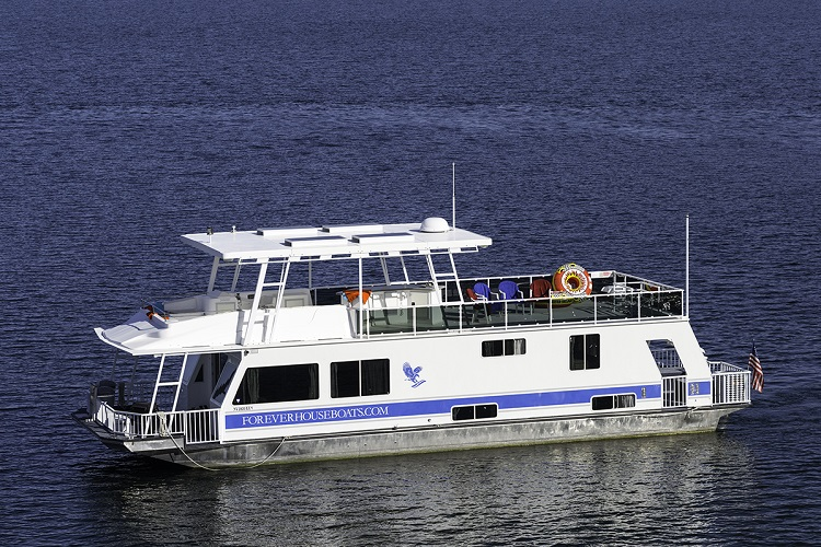 60-ft Eagle Houseboat
