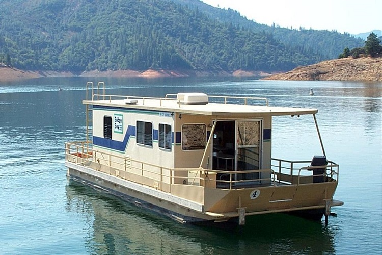 Houseboat rentals shasta lake ca american houseboat for Houseboats for rent in california